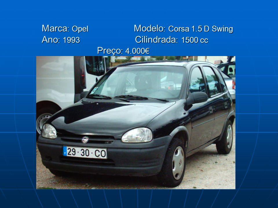 Marca: Opel. Modelo: Corsa 1