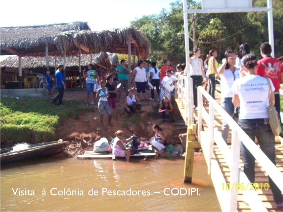 Visita à Colônia de Pescadores – CODIPI.