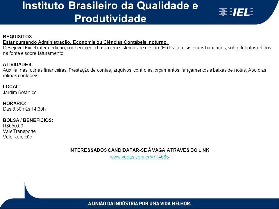 Instituto Brasileiro da Qualidade e Produtividade