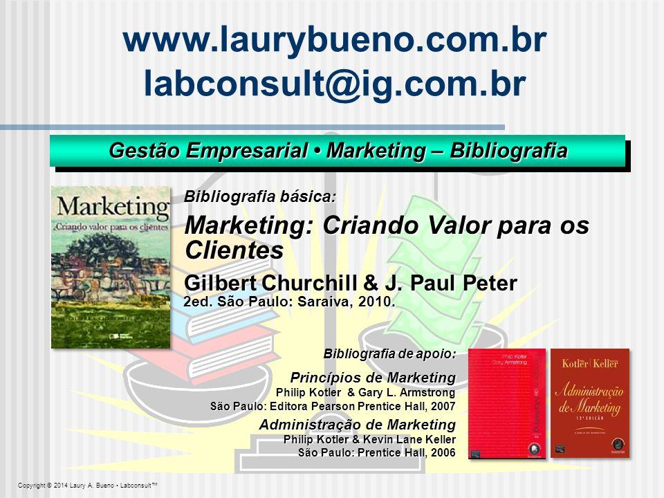 Gestão Empresarial • Marketing – Bibliografia