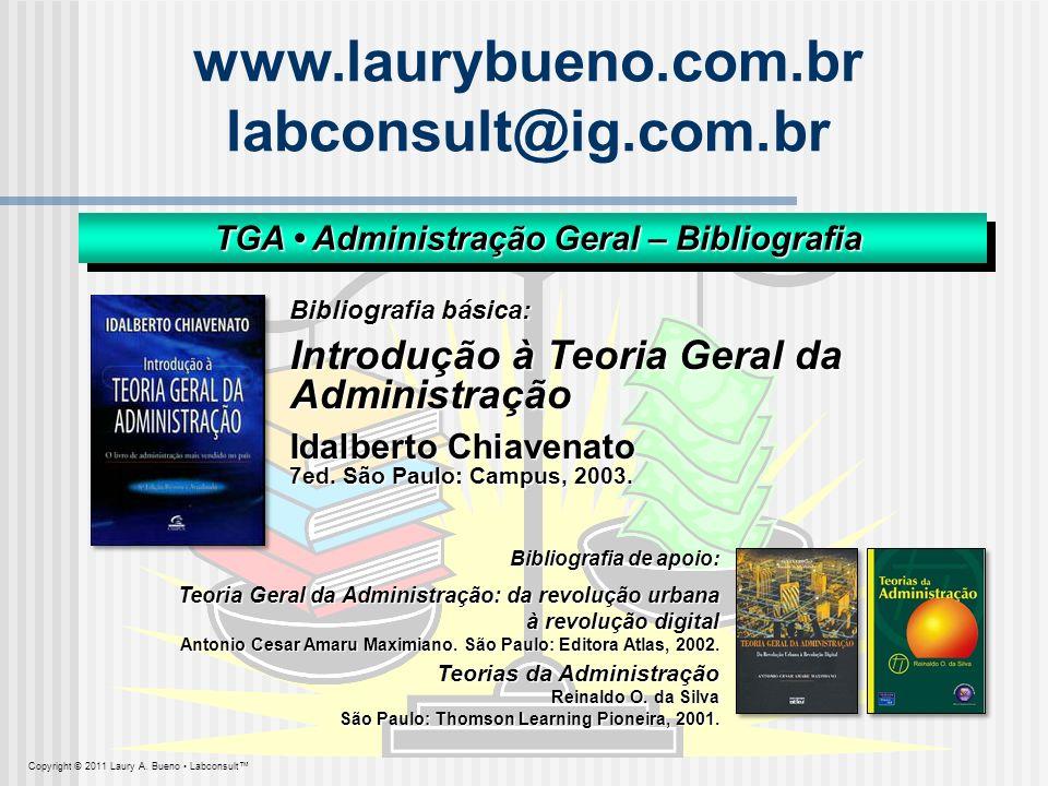 TGA • Administração Geral – Bibliografia