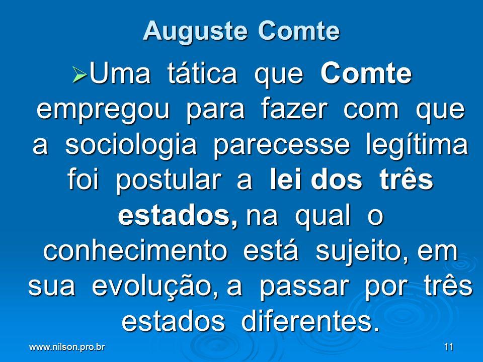 Auguste Comte