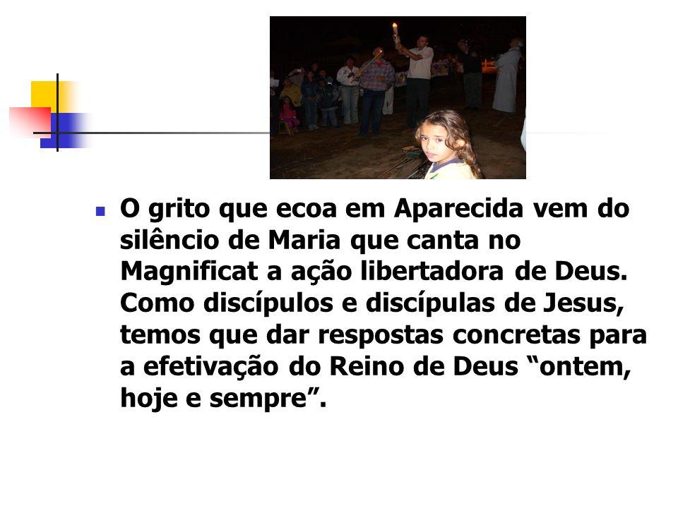 O grito que ecoa em Aparecida vem do silêncio de Maria que canta no Magnificat a ação libertadora de Deus.