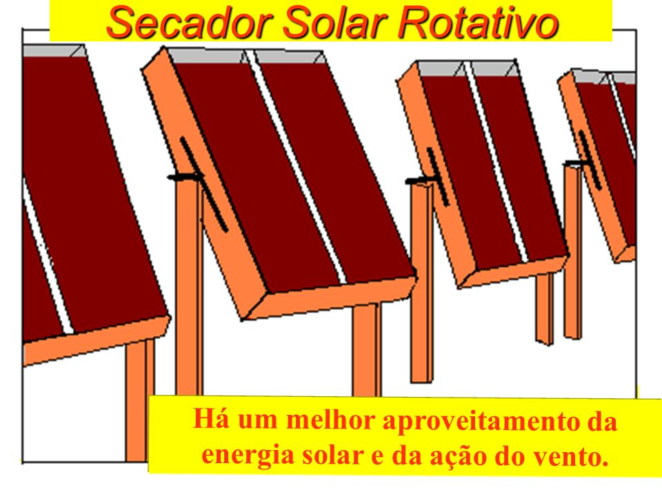 Secador Solar Rotativo