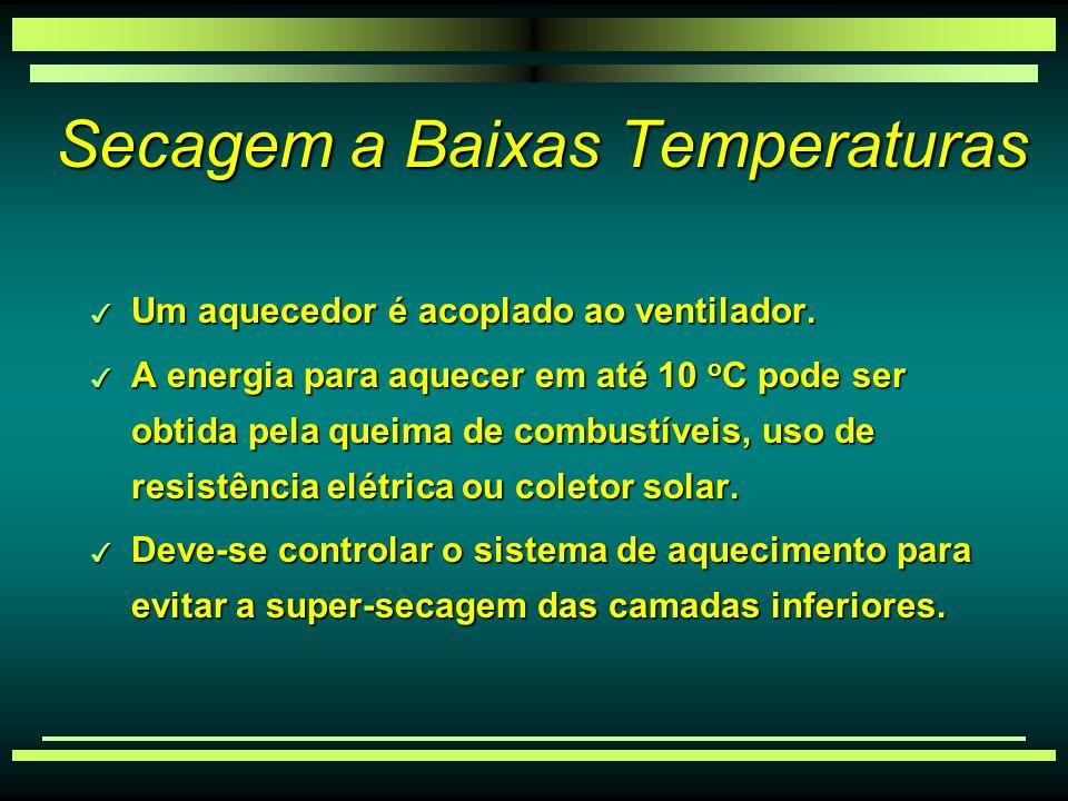 Secagem a Baixas Temperaturas