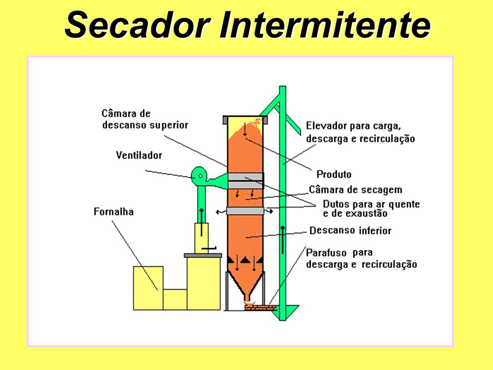 Secador Intermitente