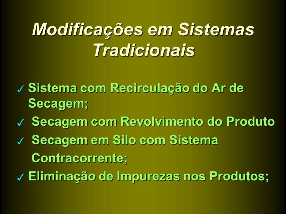 Modificações em Sistemas Tradicionais