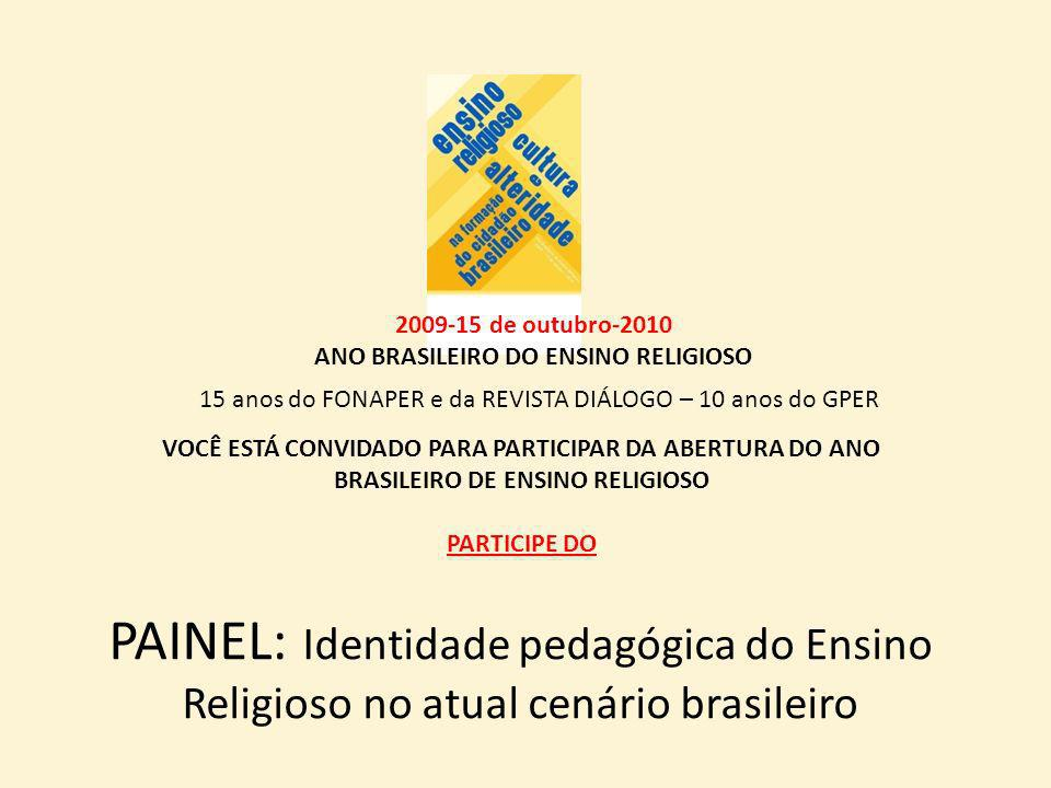 ANO BRASILEIRO DO ENSINO RELIGIOSO