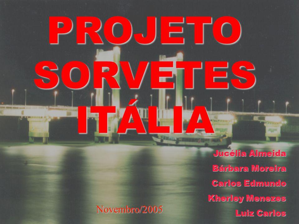 PROJETO SORVETES ITÁLIA