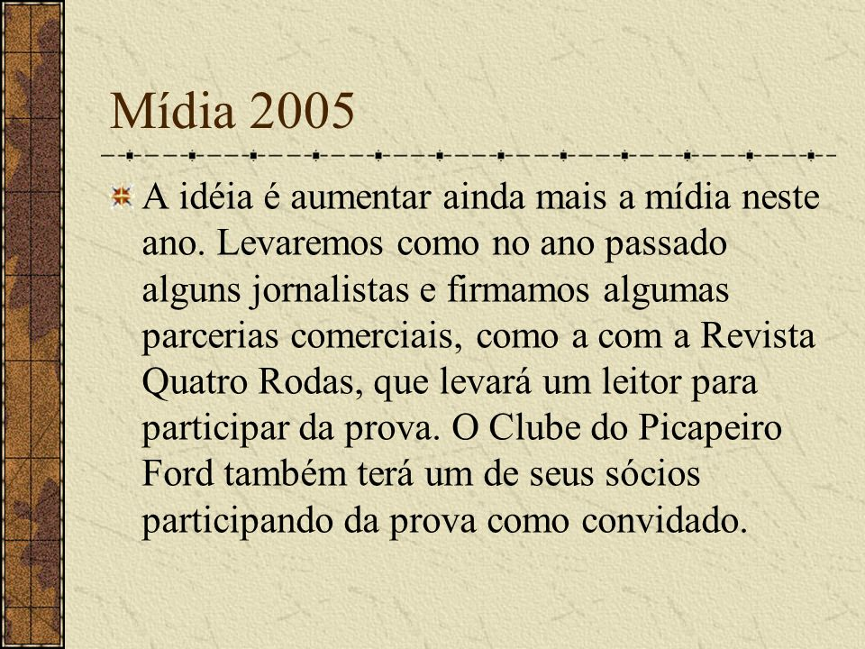 Mídia 2005
