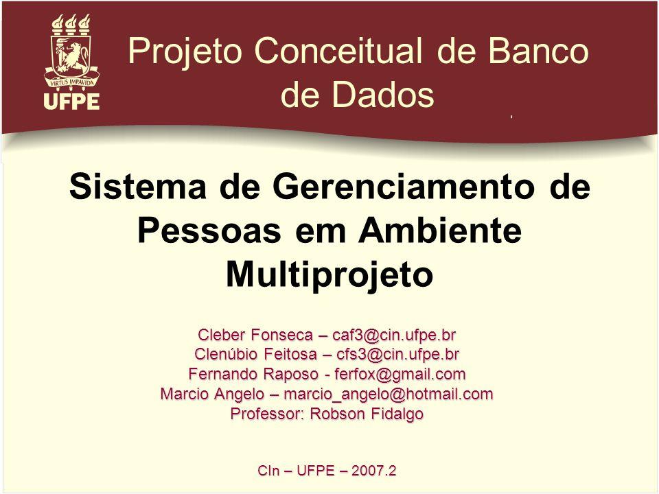 Sistema de Gerenciamento de Pessoas em Ambiente Multiprojeto