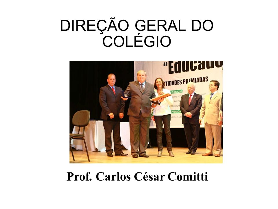 DIREÇÃO GERAL DO COLÉGIO