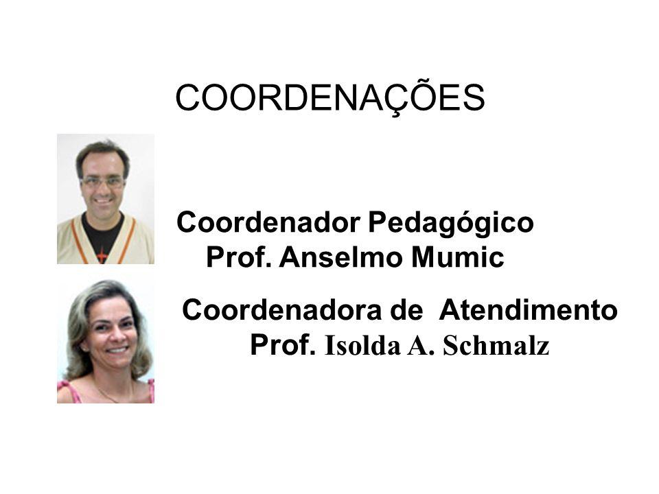 Coordenador Pedagógico Coordenadora de Atendimento