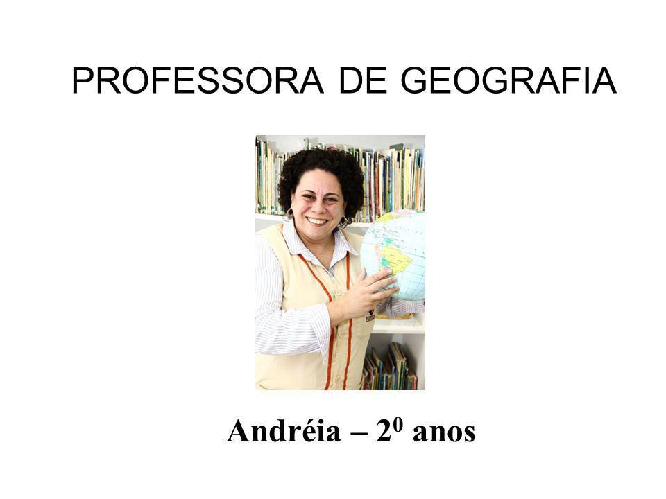 PROFESSORA DE GEOGRAFIA