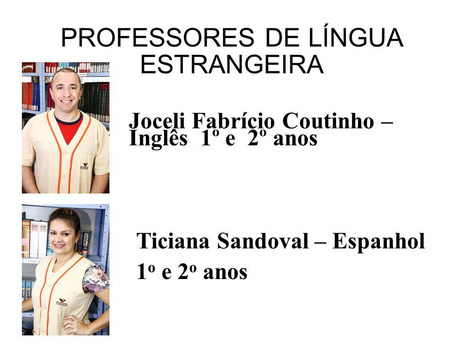 PROFESSORES DE LÍNGUA ESTRANGEIRA