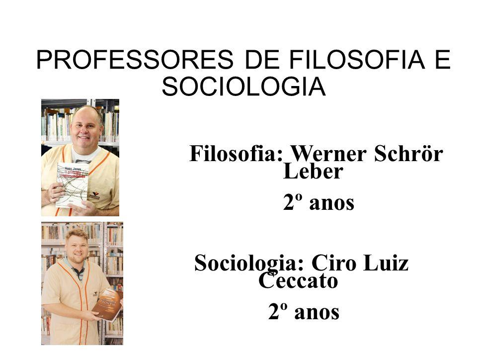 PROFESSORES DE FILOSOFIA E SOCIOLOGIA