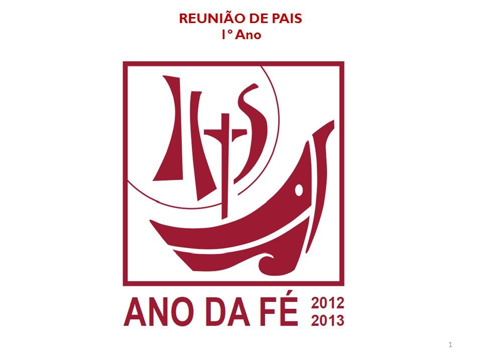 REUNIÃO DE PAIS 1º Ano