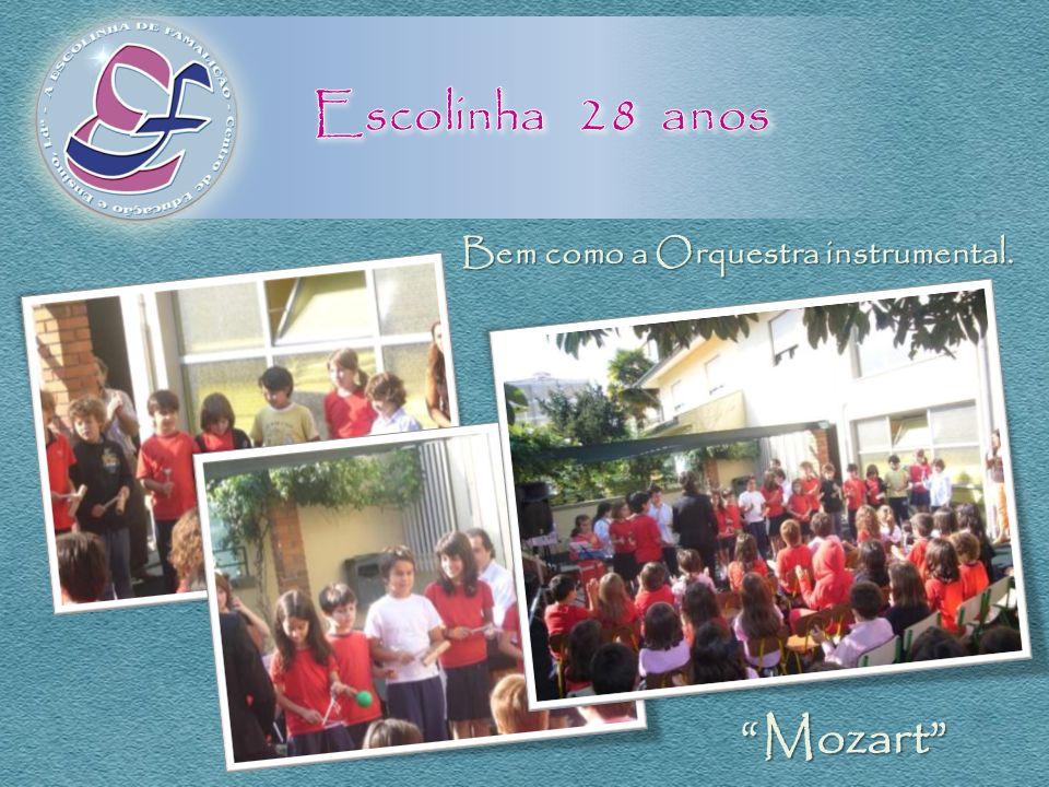 Escolinha 28 anos Mozart