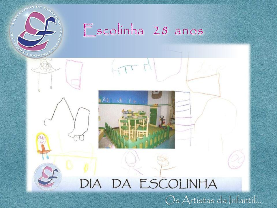 Escolinha 28 anos Os Artistas da Infantil...