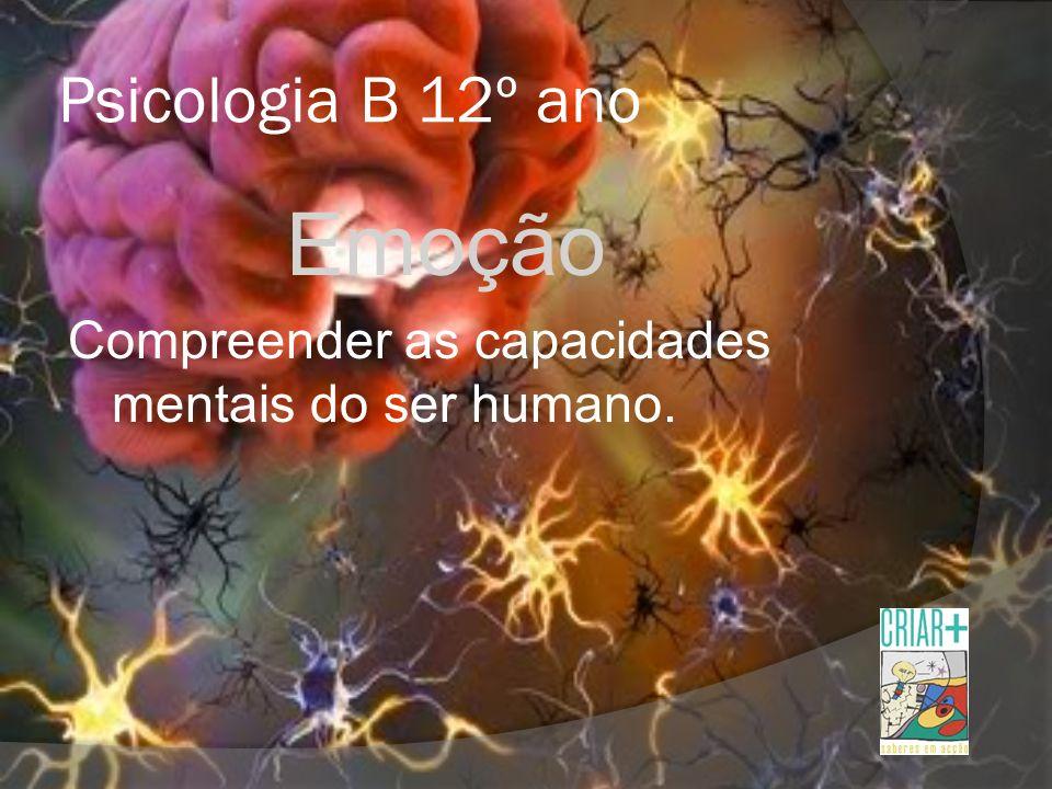 Emoção Psicologia B 12º ano