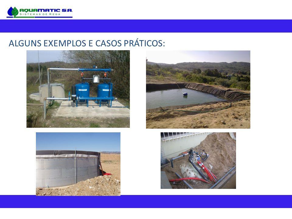 ALGUNS EXEMPLOS E CASOS PRÁTICOS: