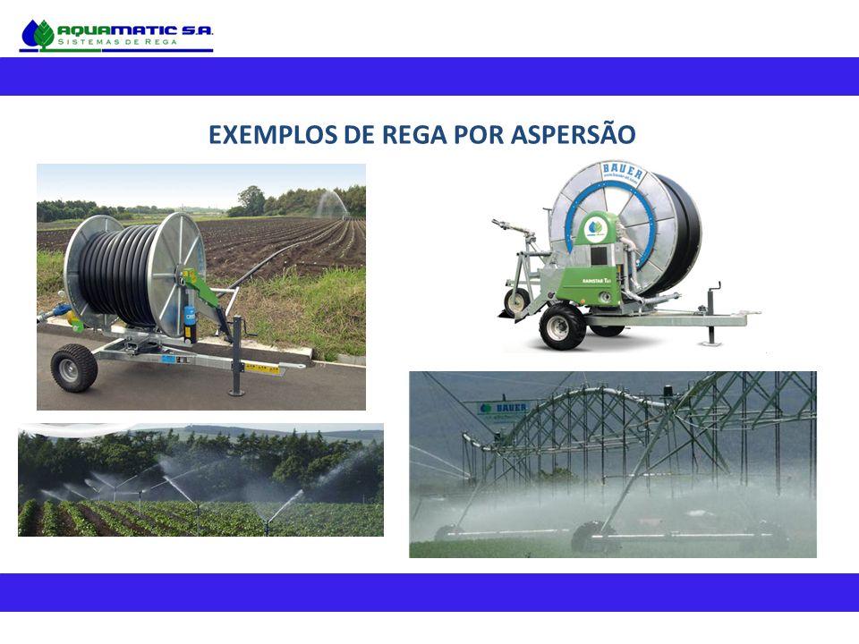 EXEMPLOS DE REGA POR ASPERSÃO