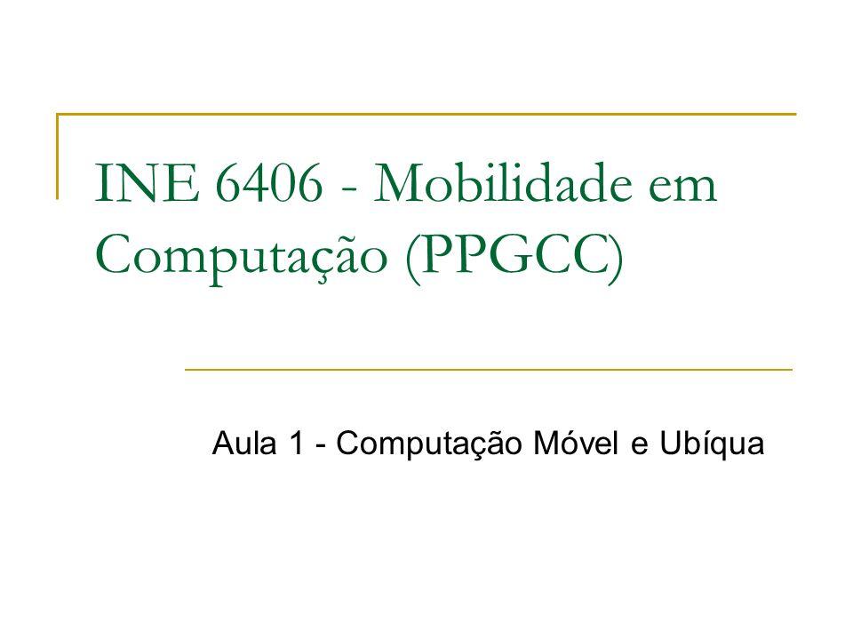 INE 6406 - Mobilidade em Computação (PPGCC)