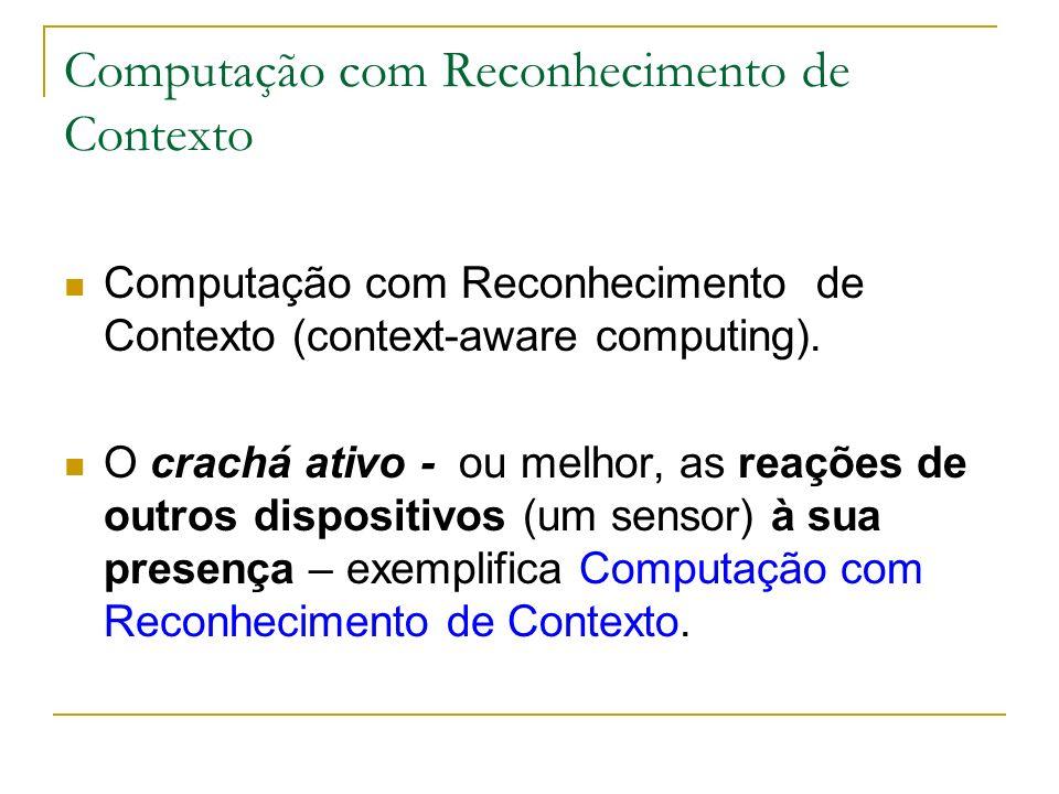 Computação com Reconhecimento de Contexto