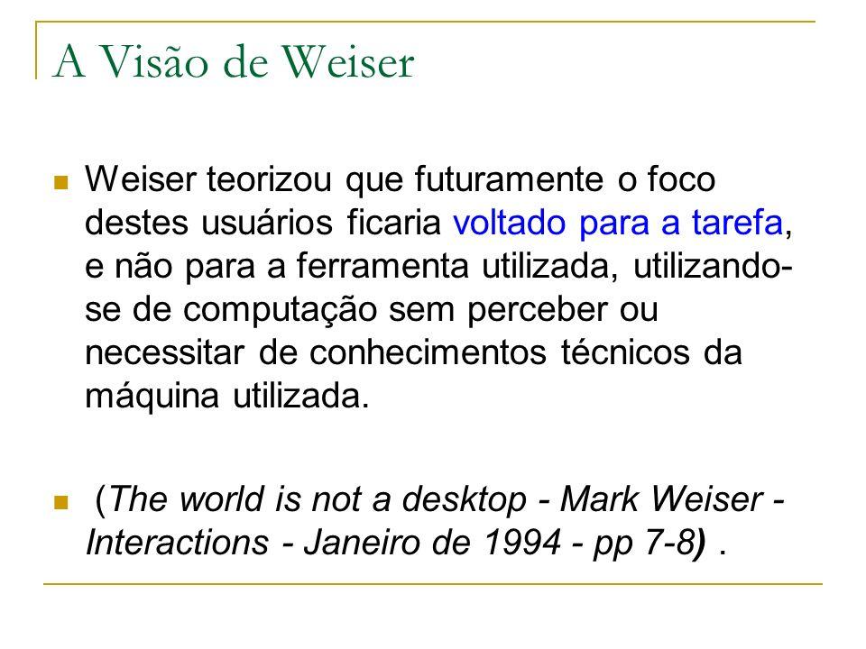 A Visão de Weiser