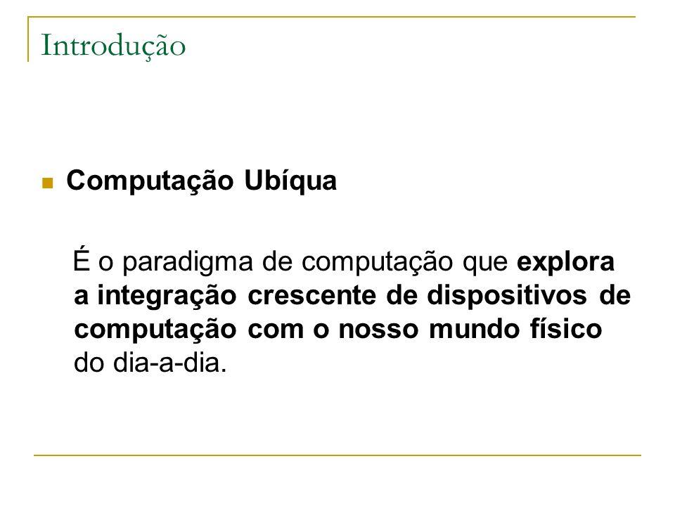 Introdução Computação Ubíqua