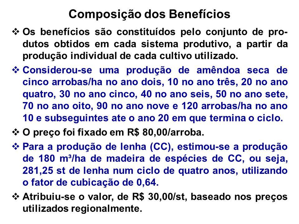 Composição dos Benefícios