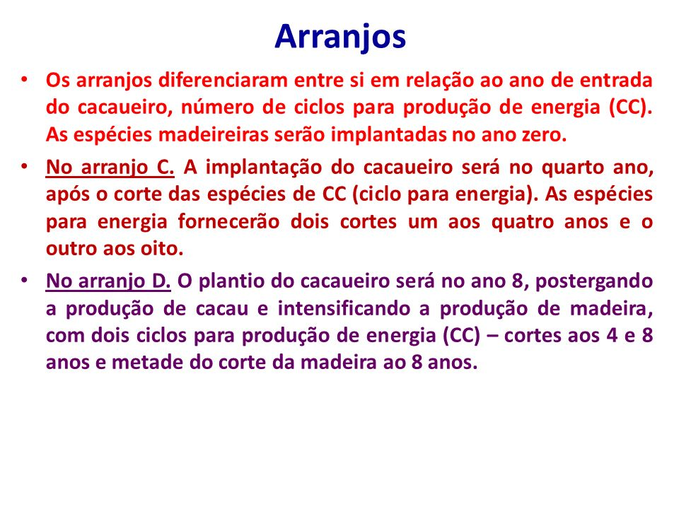 Arranjos