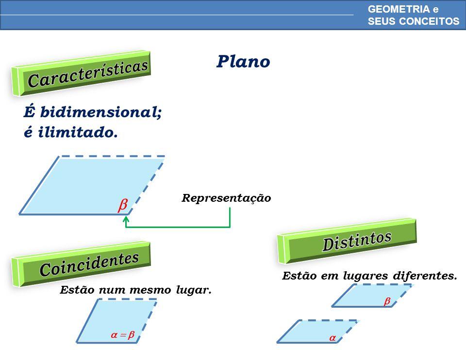 Características Distintos Coincidentes