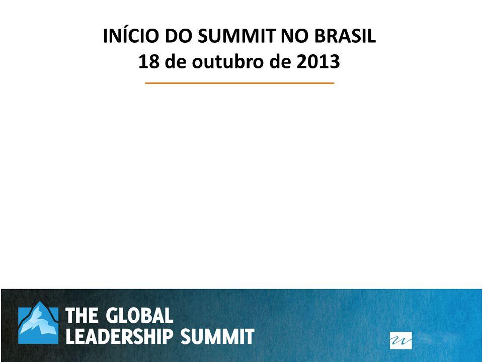 INÍCIO DO SUMMIT NO BRASIL