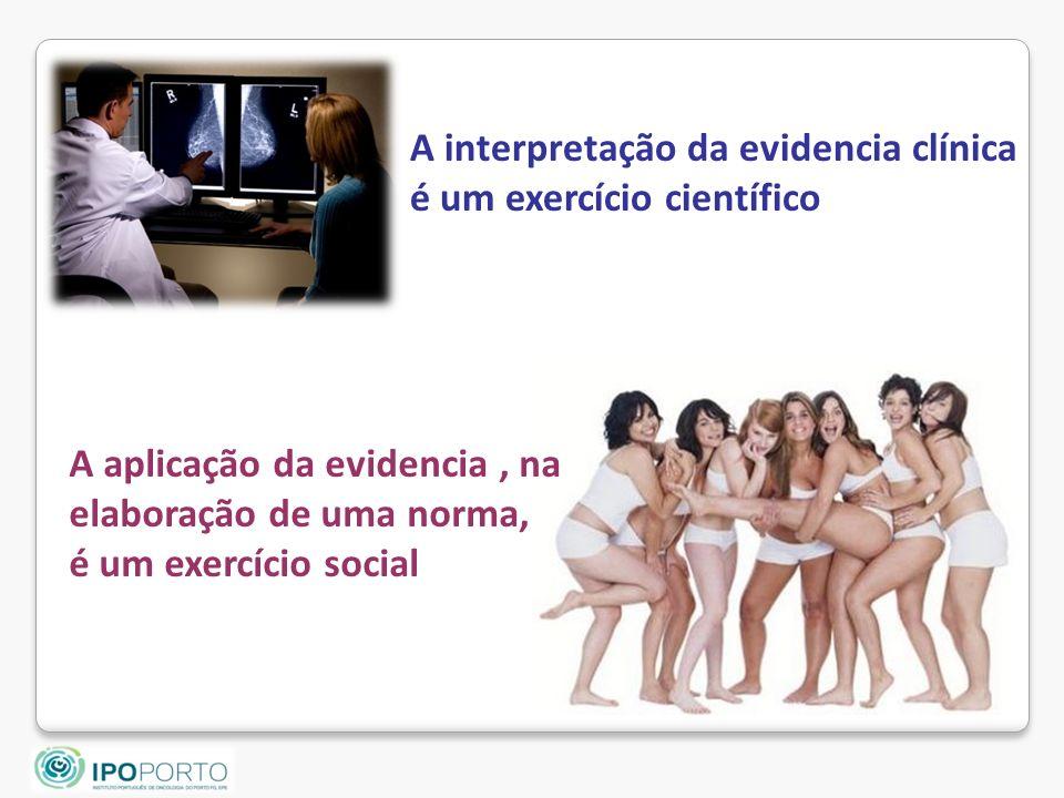 A interpretação da evidencia clínica