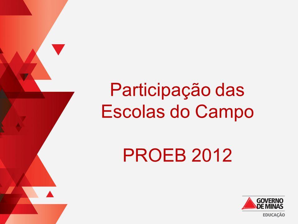 Participação das Escolas do Campo PROEB 2012