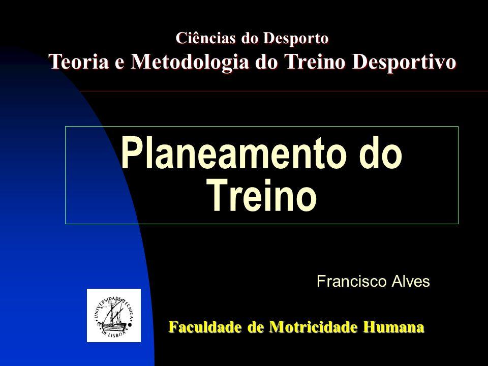 Teoria e Metodologia do Treino Desportivo
