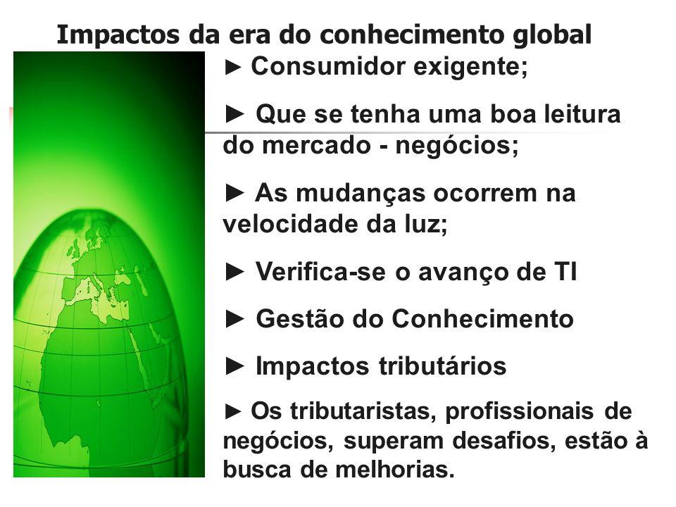 Impactos da era do conhecimento global
