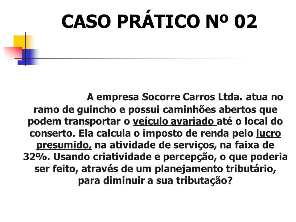 CASO PRÁTICO Nº 02