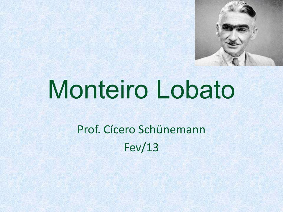 Prof. Cícero Schünemann Fev/13