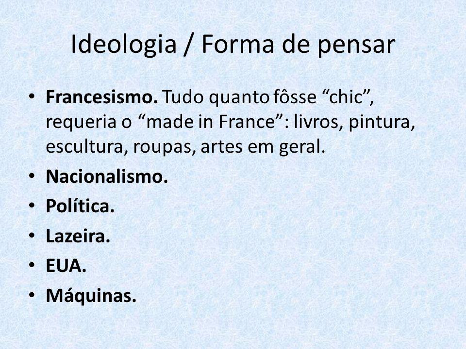 Ideologia / Forma de pensar