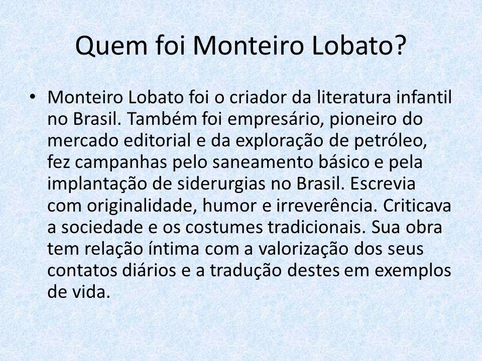 Quem foi Monteiro Lobato