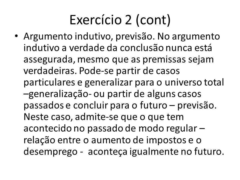 Exercício 2 (cont)