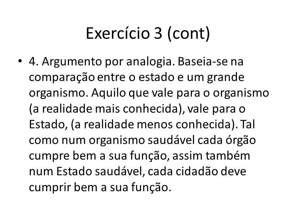 Exercício 3 (cont)