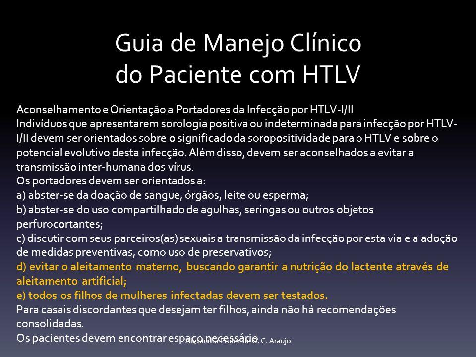 Guia de Manejo Clínico do Paciente com HTLV