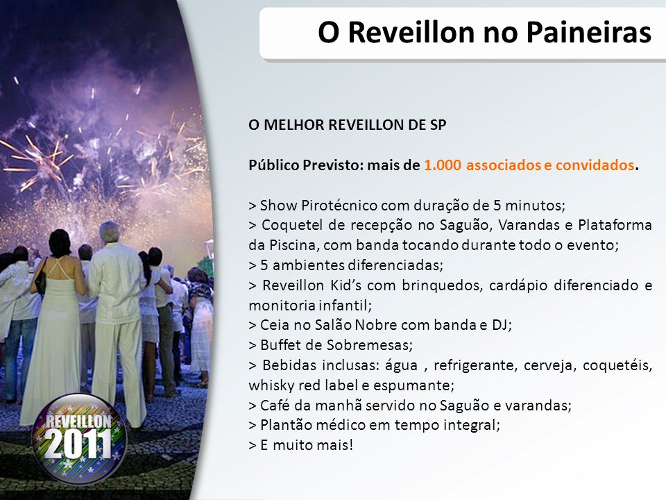 O Reveillon no Paineiras