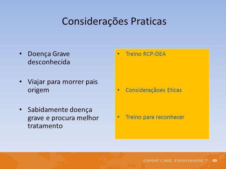 Considerações Praticas