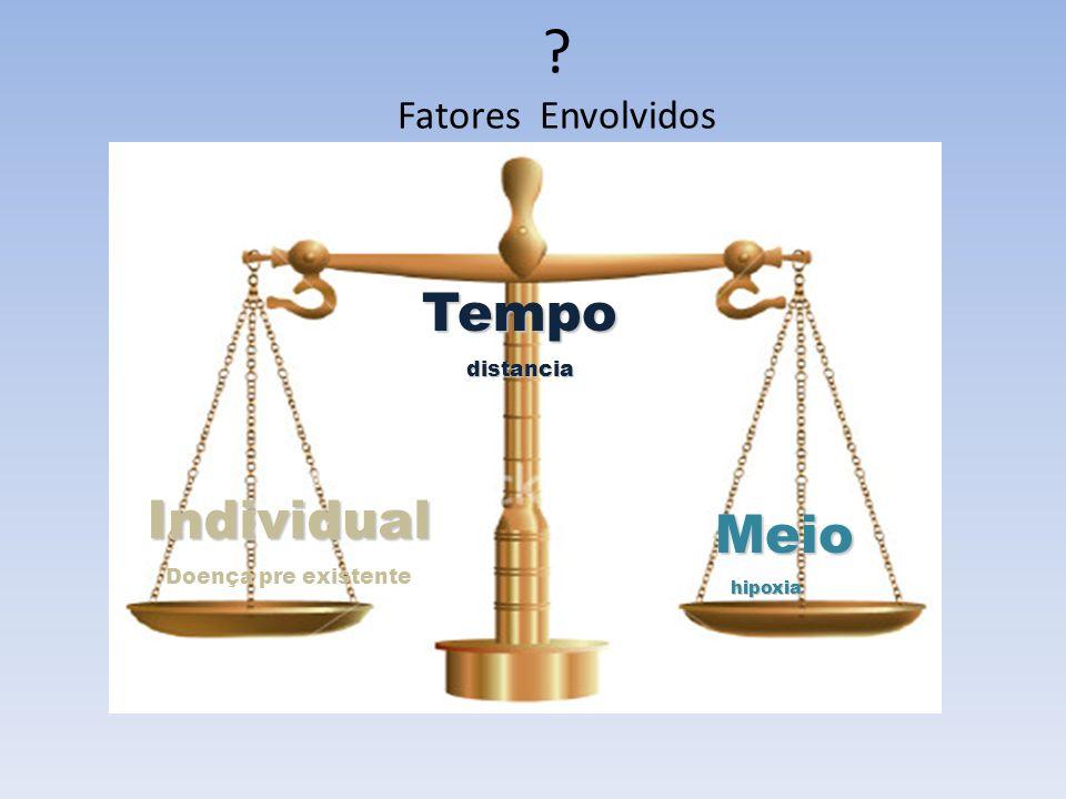 Fatores Envolvidos Tempo Individual Meio distancia