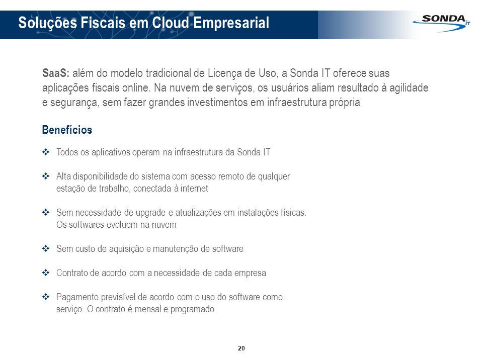 Soluções Fiscais em Cloud Empresarial