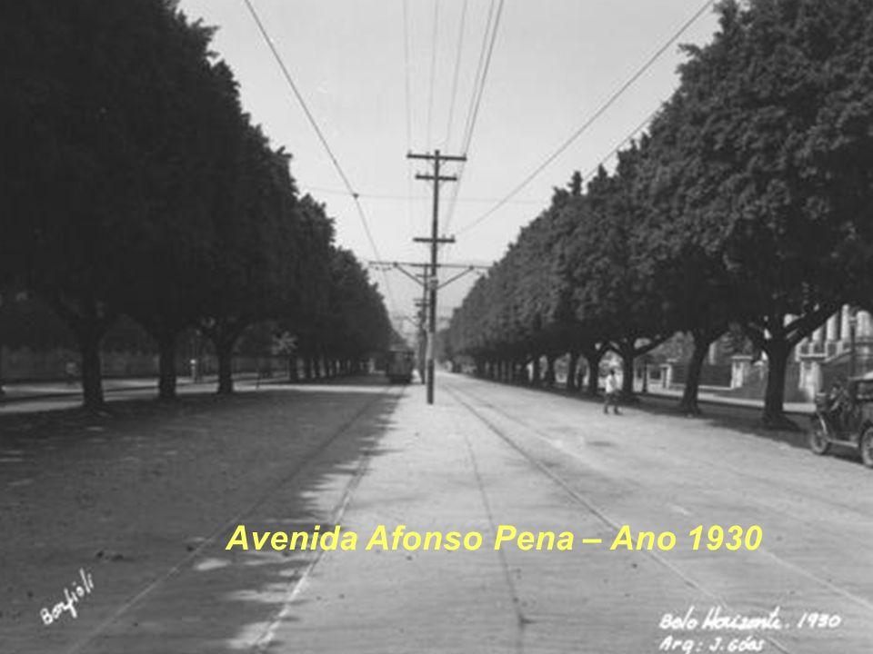 Avenida Afonso Pena – Ano 1930